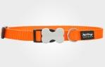 Collar para perro nylon naranja