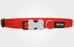 Collar para perro de nylon rojo
