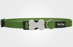 Collar para perro nylon verde