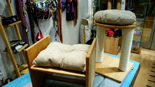 Rascadores de Bambú para gatos